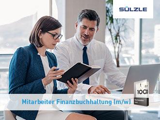 Stellenangebot: Mitarbeiter Finanzbuchhaltung (M/W) in Rosenfeld gesucht