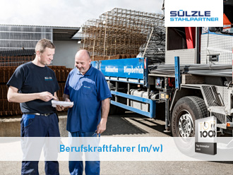 Stellenangebot: Berufskraftfahrer in Seelze bei SÜLZLE Stahlpartner