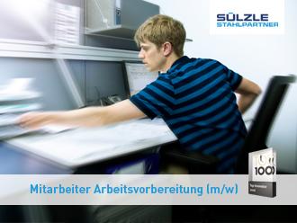 Stellenangebot: Mitarbeiter Arbeitsvorbereitung (m/w) in Seelze