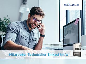 Stellenangebot: Mitarbeiter Technischer Einkauf (m/w) in Rosenfeld bei der SÜLZLE Gruppe