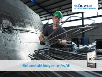 Jetzt bei SÜLZLE Stahlpartner in Stockach bewerben!